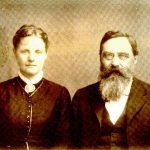 Dorothea and Carl Hilmar Guenther, ca. mid-1860s