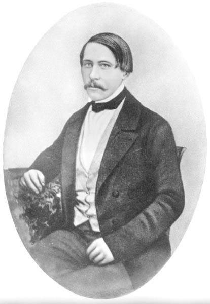 Carl Hilmar Guenther portrait made in Saxony before his 1848 departure for America