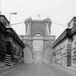 Covington and Cincinnati Bridge, View on Bridge toward North