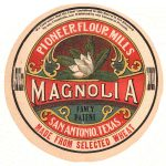"""Magnolia was the brand name of one of the top-grade flours, called """"patent"""" flours introduced C.H. Guenther"""