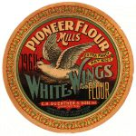 White Wings Flour was one of the signature brands created by the company following the settlement of the lawsuit between C.H. Guenther & Son and the Guenther Milling Company in 1899