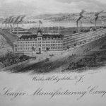 Singer factory, Elizabethport, New Jersey, ca. 1880
