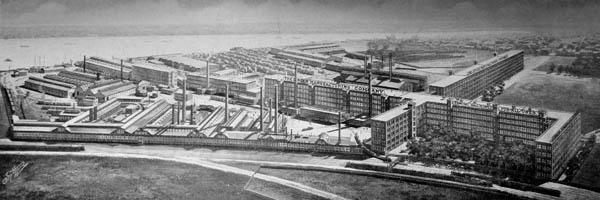 Singer factory complex, Elizabethport, New Jersey, ca. 1908