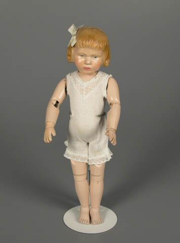 """Schoenhut """"All Wood Perfection Art Doll,"""" 1911-12"""