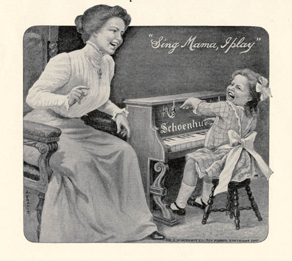 """Sing Mama, I play,"" 1912"