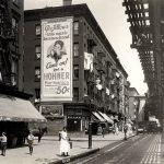 Hohner billboard in New York City, 1924