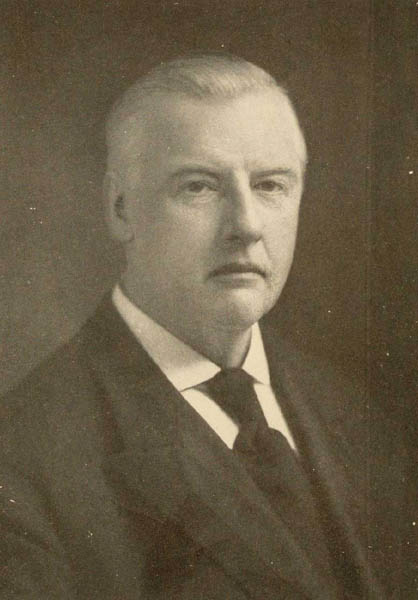 Portrait of Herman Ridder from his 1915 publication, Hyphenations