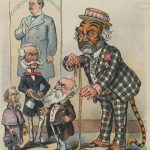 Cartoon depicting New York political boss Richard Croker as a tiger, the symbol of Democratic political machine Tammany Hall