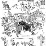 Hudson-Fulton Celebration Cartoon