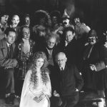 """Carl Laemmle and the cast of """"The Man Who Laughs,"""" 1928"""