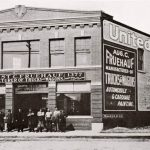 The new Fruehauf wagon, carriage, and automobile shop on Gratiot Avenue, Detroit