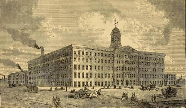 William Knabe & Company Piano Factory, ca. 1873