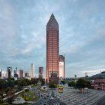 Messetower in Frankfurt am Main, Germany