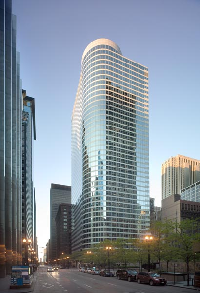 Xerox Center in Chicago, completed in 1980