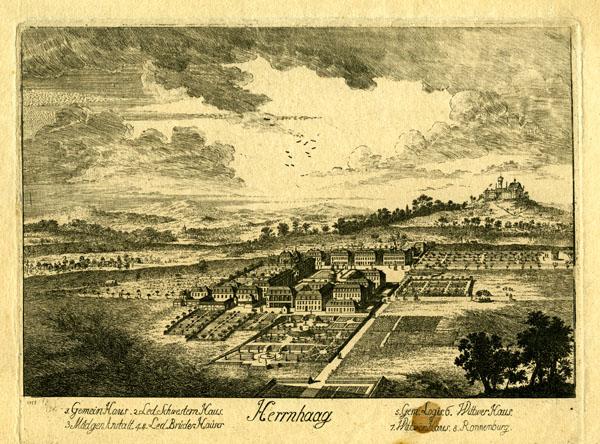 Herrnhaag, 1755