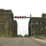 Former Pabst Brewery facility, Milwaukee, Wisconsin, May 2011