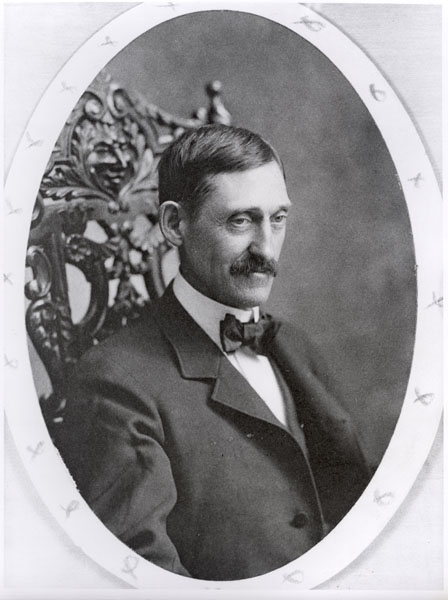 John Brush, owner of the Cincinnati Reds and later of the New York Giants