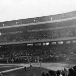 First game of the 1919 World Series, played at Redland Field in Cincinnati on October 1, 1919