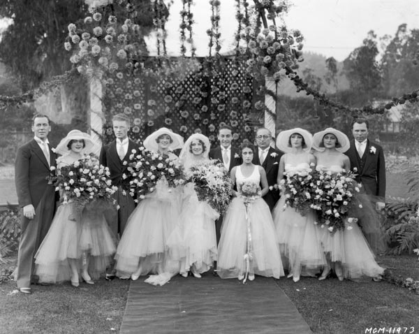 Wedding of Norma Shearer to Irving Thalberg