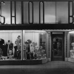 Fashion Bar window display, ca. 1940s