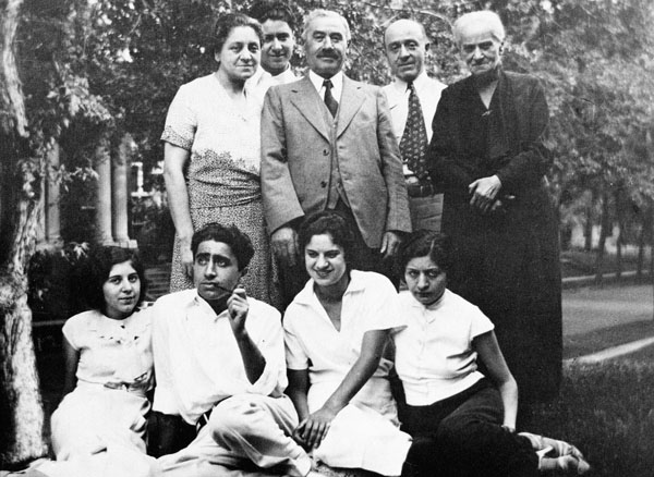 The Levy/Hilb family in Denver, ca. 1930