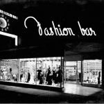 Fashion Bar window display, ca. 1950s