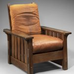 Gustav Stickley, Adjustable-back Chair, designed 1901, made ca. 1905