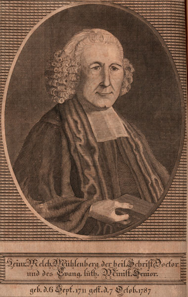 Portrait of Henry Melchior Muhlenberg