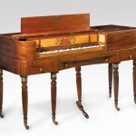 Square piano made by Charles Albrecht and Charles Deal, Philadelphia, 1813