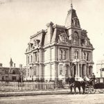 Home of Wilhelm Böing, Sr., on Woodward Avenue in Detroit, 1881