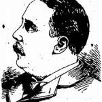 Illustration of Charles Pfister in 1899