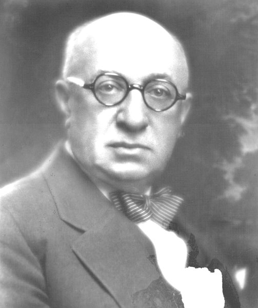 Portrait of Joseph Jacobs, 1928