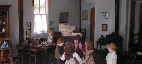 Diorama reconstruction of the Schurz kindergarten, Watertown, Wisconsin