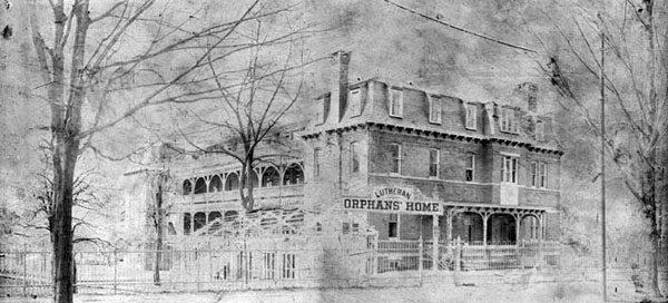 Lutheran Orphans' Home, Germantown, Philadelphia, Pennsylvania