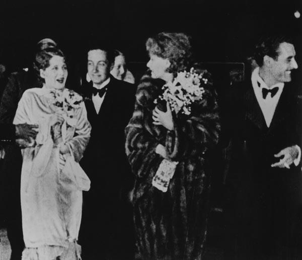 Irving Thalberg and Greta Garbo