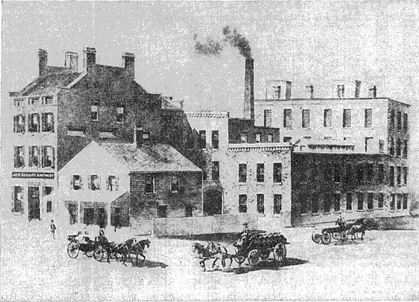 Krug's Brewery, Milwaukee, ca. 1852