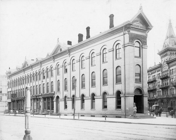 "Second Ward Bank, Milwaukee, also known as the ""Brewers' Bank"""
