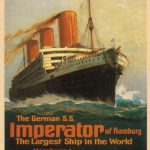 """The """"Imperator"""" (HAPAG), 1913"""