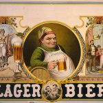 """Lager bier,"" lithograph"