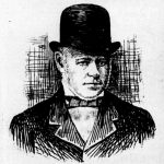 Drawing of Henry Hackfeld, based on a photograph