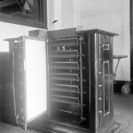 Tabulating machine, U.S. Census Bureau, 1917