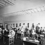 Women working in the Tabulating Machine Co.'s Washington office