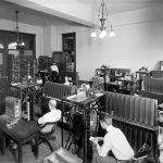 Tabulating Machine Co. workers and machines in the company's Washington office