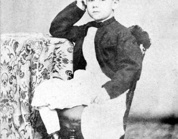 Herman Hollerith as a young boy, c. 1870