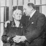George Remus with his mother Maria Remus during 1927 murder trial