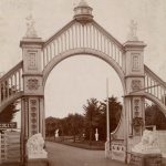 Sutro Heights main gate, c. 1897