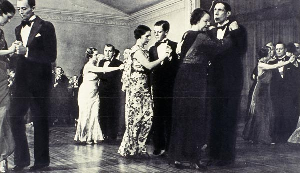 Dancing at the Remus mansion, ca. 1922