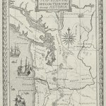 Map of the Oregon Territory Showing Astoria