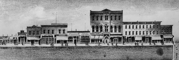 May store on Harrison Street, Leadville, Colorado, c. 1880s