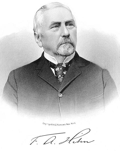 Portrait of Frederick A. Hihn, ca. 1890